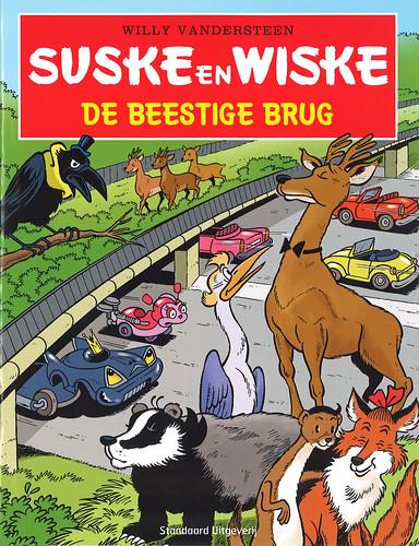 Educatief stripverhaal over hoe dieren in het dichtbebouwde Vlaanderen moeten leven.