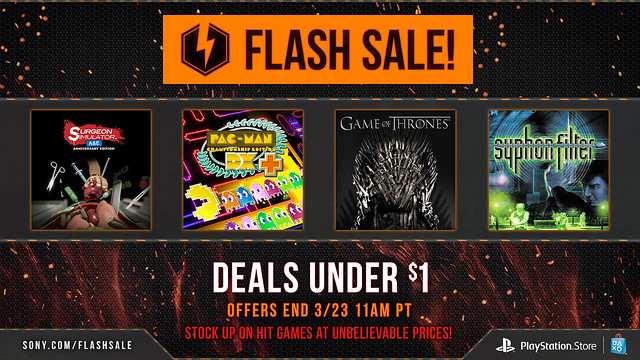 Under a Dollar Flash Sale