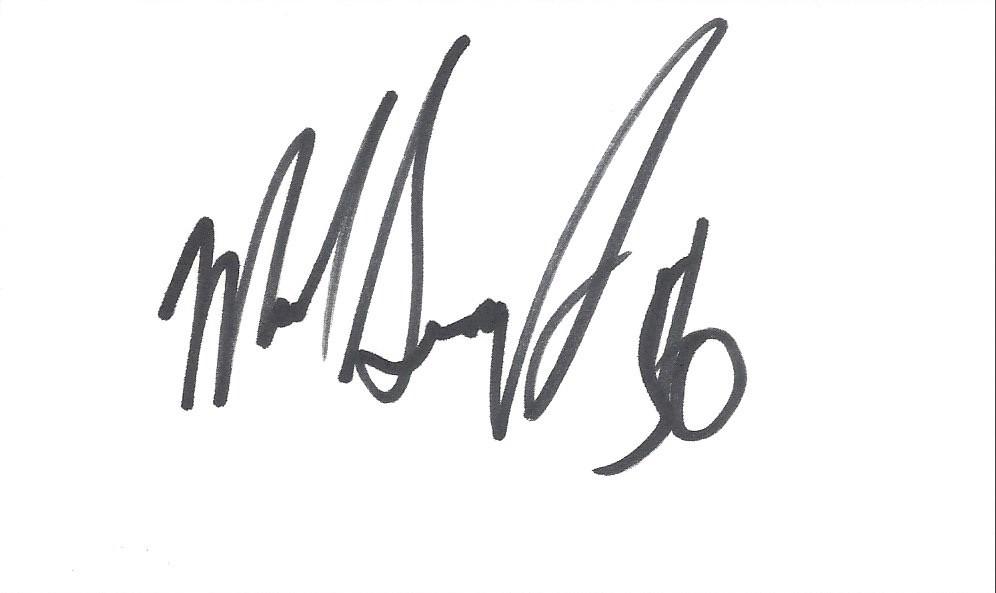 Autographed 3x5 Card - Mike Singletary | Joe Merchant | Flickr