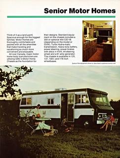 1975 GMC Senior Motor Homes (Canada)