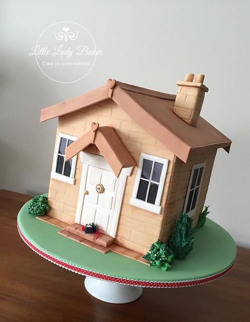 House Cake by Little Lady Baker
