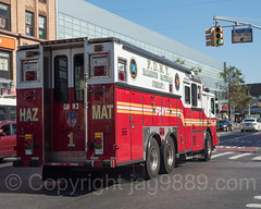 FDNY HazMat Fire Truck, East Harlem, New York City