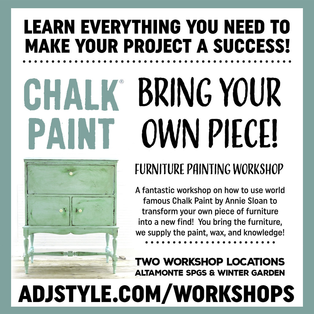 Bring Your Own Piece - A Furniture Painting Workshop
