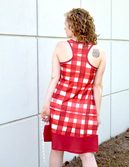 Rumi Dress by Christine Haynes Patterns in Modern Jersey