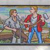 Mosaic detail, Huddersfield