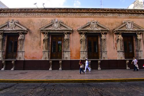 Colonial Merida, Mexico