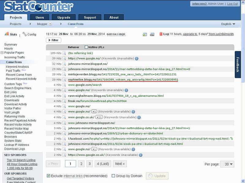 statcounter blogg