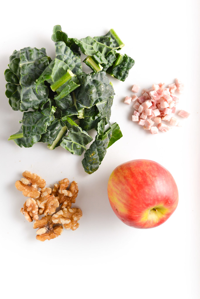 Hearty Kale, Apple, and Pancetta Salad with Walnuts | Things I Made ...