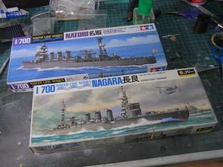 【玩具人'詹波'投稿】1/700 長良與名取雙艦組模型製作分享