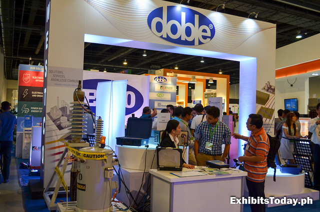Doble Exhibit Booth