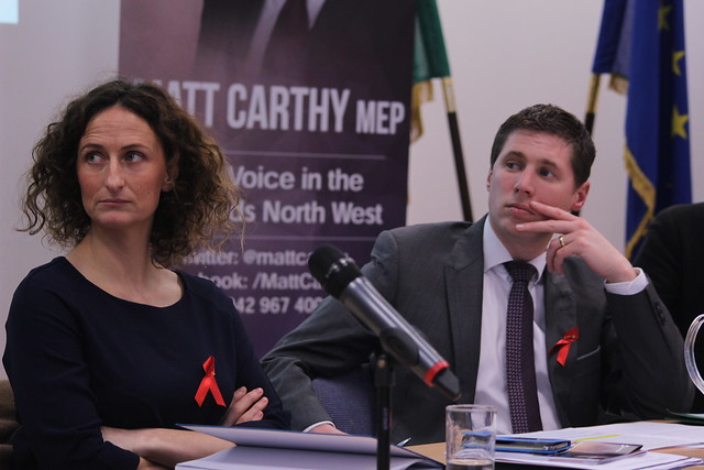 Lynn Boylan and Matt Carthy