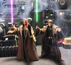chevy2who has added a photo to the pool:Here's the Mara Jade custom next to Luke for a size comparison.