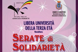 Noicattaro. Serate Solidarietà Lute front
