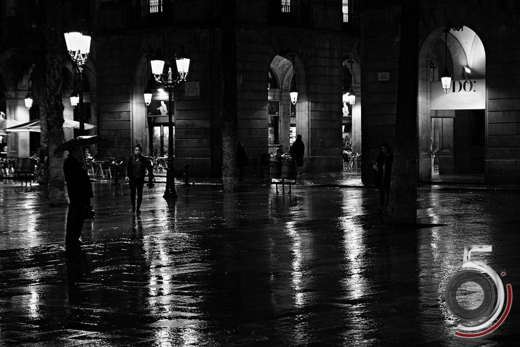 Llueve en la ciudad