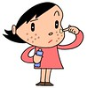 Health cartoon character - People of poor health