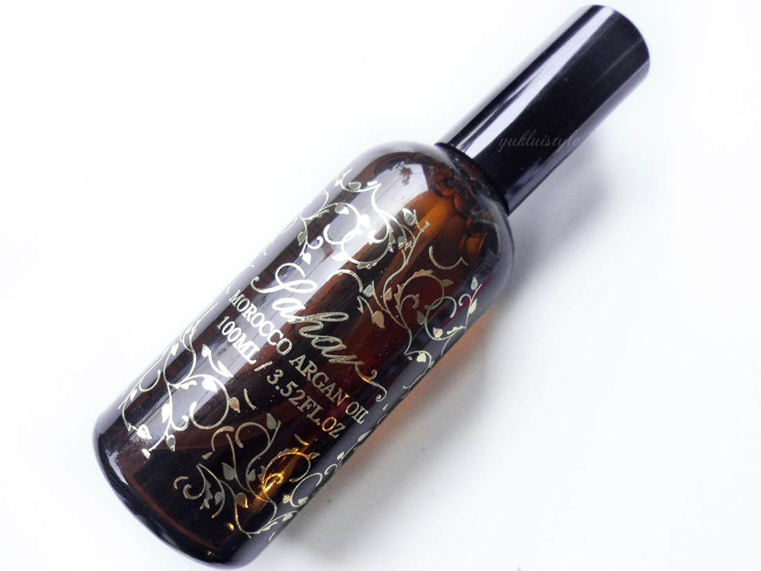 Sahar Morocco Argan Oil review