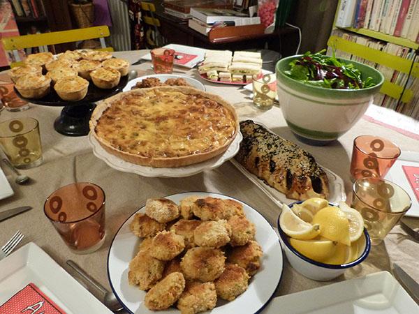 buffet anglais