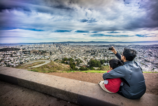 Taking pictures of San Francisco