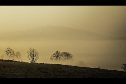 morning mountains fog sunrise canon góry poranek 6d mgła beskidy wschód istebna