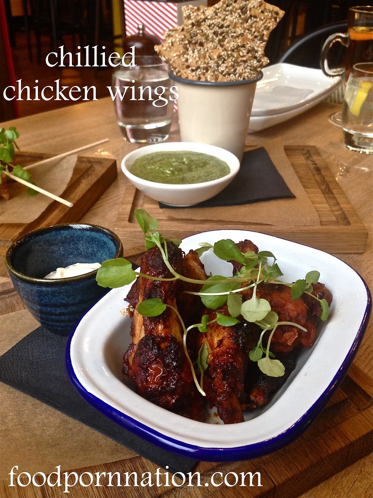 The Porchester - Chillied chicken wings