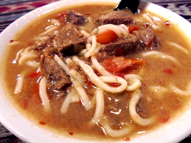 Payung beef noodles