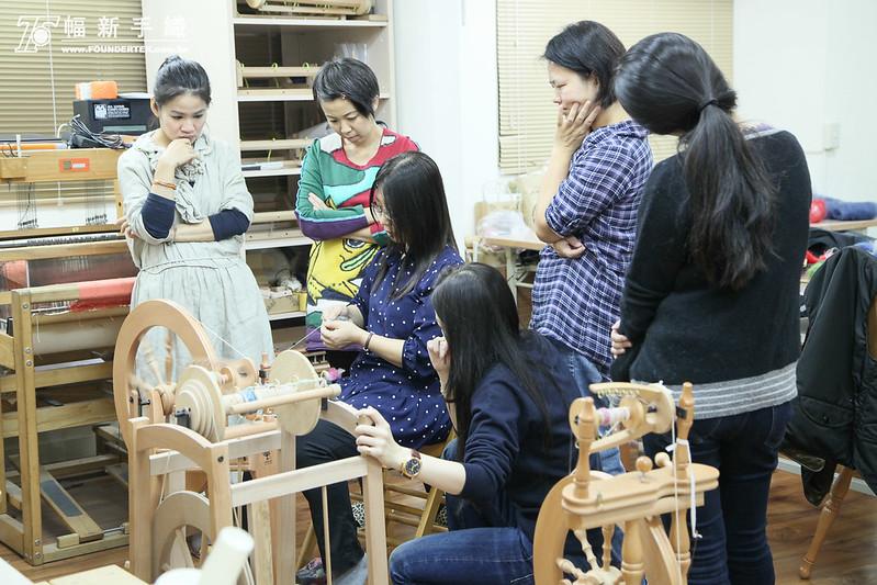 2014.12.04-05-幅新手織|基礎紡紗課程