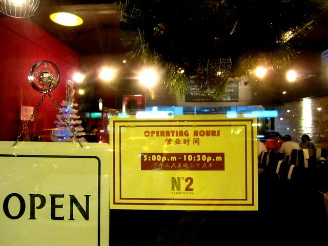 Casual Dining opening hours