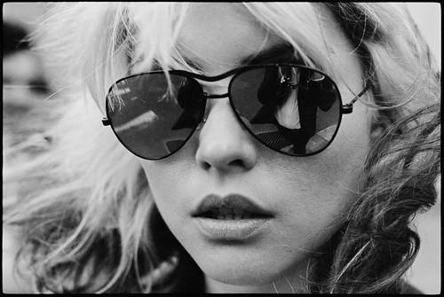 Blondie, taken by Chris Stein