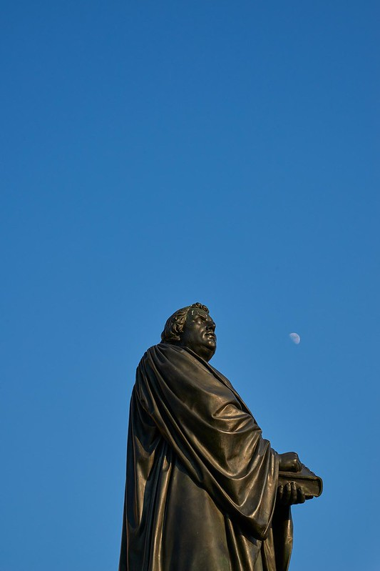 Luther and Moon - Dresden