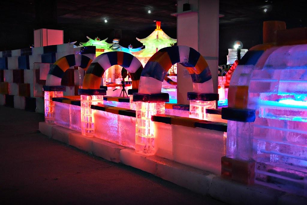 台中高鐵-2015正宗哈爾濱冰冰燈冰雕展-60