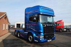 Scania R580 6x2 Tag Axle Topline Streamline - Blue Stream #16