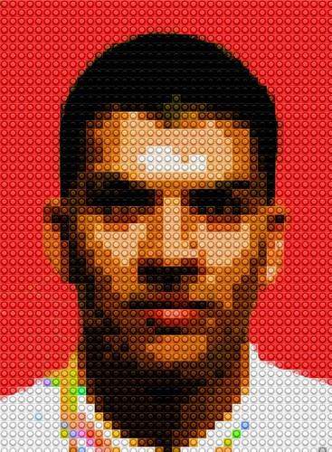 Image of Self - LEGO Mosaic