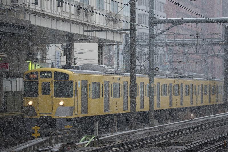 Tokyo Train Story 西武新宿線 2015年1月30日