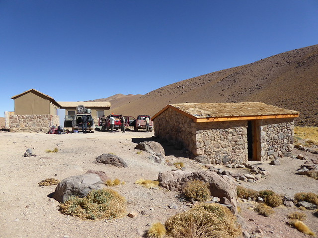 Llullaillaco base camp