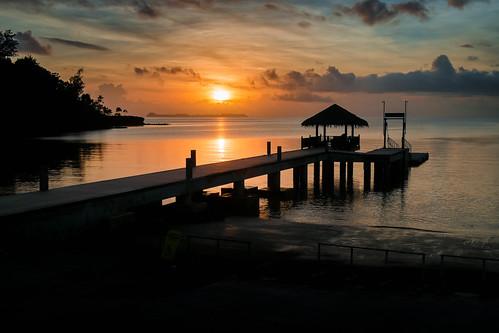 ocean sunset beach palau palaupacificresort fujixpro1