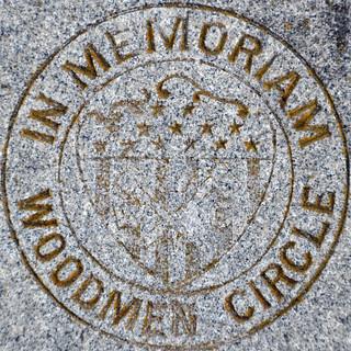 In memoriam, Woodmen Circle - squared circle