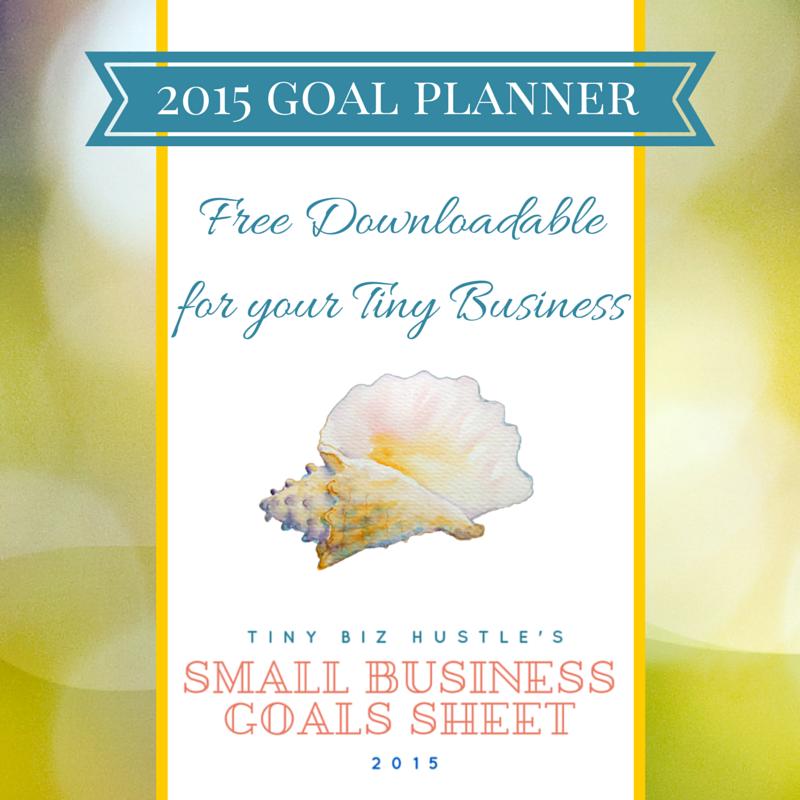 Small Business Goals Sheet