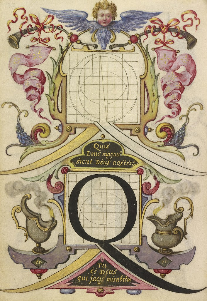 Guide for Constructing the Letter Q