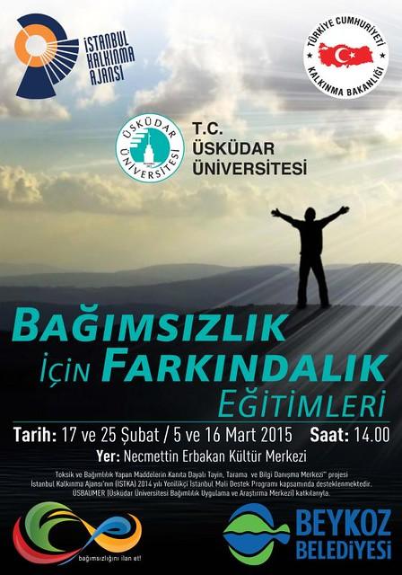 """Üsküdar Üniversitesi'nden gençlere ve ailelerine  """"Bağımsızlık için farkındalık eğitimleri"""""""
