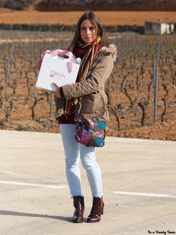 Outfit: Evento blogger Bodega Chozas Carrascal