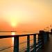 Sunset on Boardwalk | DamShui, Taiwan