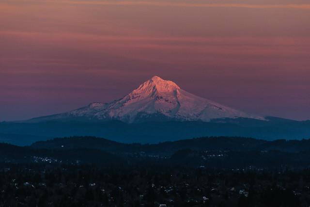 Killavvatt - Sunset Mt Hood