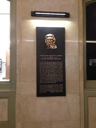 Jackie Kennedy, Grand Central Station. NYC. Nueva York