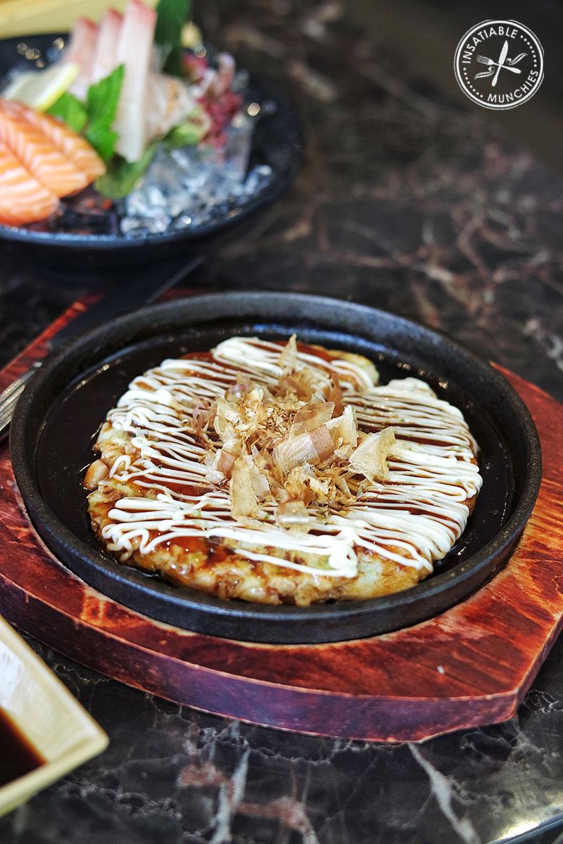 Okonomiyaki, $5.50