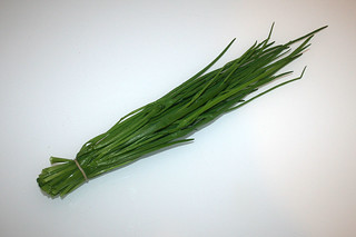 08 - Zutat Schnittlauch / Ingredient chives
