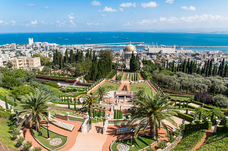 Bahai Gardens and Shrine. Haifa, Israel