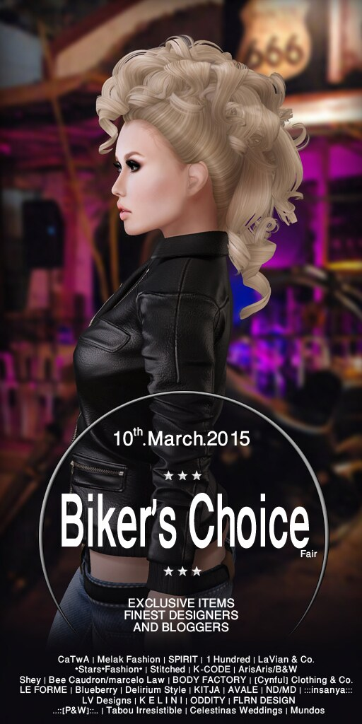 Biker's Choice Fair Flyer