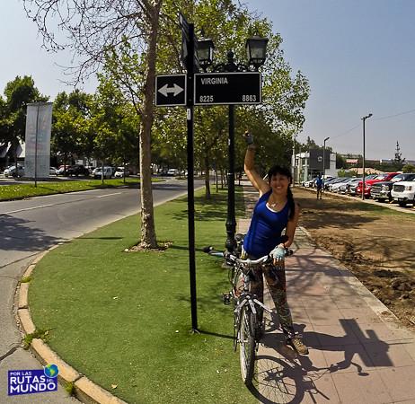 Por las Rutas del Mundo en Bici Chile