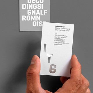 ITG brand, print and website by Landor – Geogrotesque in use – http://t.co/yr7U2X6Dgu