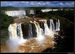 Incredible symphony of water - Iguassu Falls
